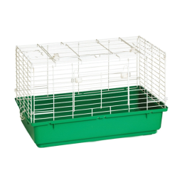 Pet Lodge Small Plastic Bottom Rabbit Home 24.5 in
