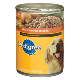 Pedigree Meaty Ground Dinner with Chopped Chicken 13.2 oz