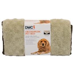 DMC Microtec Orthopedic Dog Bed With Sleeve 19 in