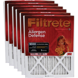 "Filtrete Allergen Defense Air Furnace Filter 16"" x 20"" x 1"""