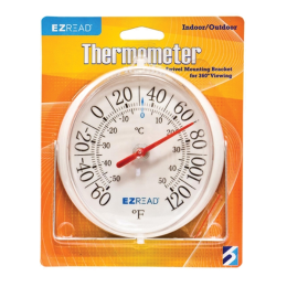 Headwind EZ Read Dial Thermometer with Bracket 5.5 in