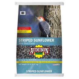Audubon Park Striped Sunflower Seed Wild Bird Food 20 lb