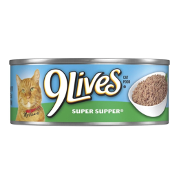 9 Lives Super Supper Cat Food 5.5 oz