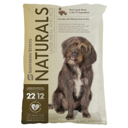 Southern States Naturals Lamb Meal and Rice Dog Food 40 lb