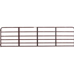 Tarter 6 Bar Economy Tube Gate Red 16 ft