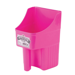 Little Giant Enclosed Feed Scoop Hot Pink 3 qt