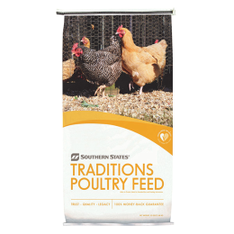 Southern States Traditions Egg Layer Poultry Feed Pellet 50 lb