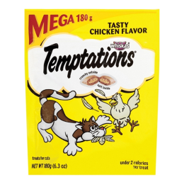 Whiskas Temptations Tasty Chicken Flavor Treats 6.3 oz