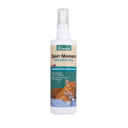 Naturvet Quiet Moments Herbal Calming Spray For Cats 8 oz