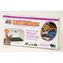Pet Lodge Wire Popup Rabbit Cage 30 in