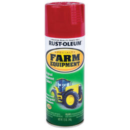 Rust-Oleum Specialty Farm Equipment Spray Paint International Red 12 oz