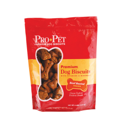 Pro Pet Premium Dog Biscuit Beef Basted 4 lb