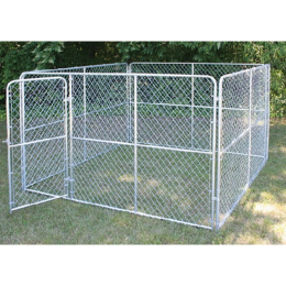 Stephens Pipe & Steel Complete Kennel Gold Series 10 ft x 10 ft x 6 ft